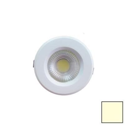 Imagen de Downlight LED COB Redondo Blanco 10W Blanco Cálido
