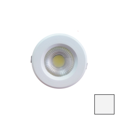 Imagen de Downlight LED COB Redondo Blanco 10W Blanco Natural