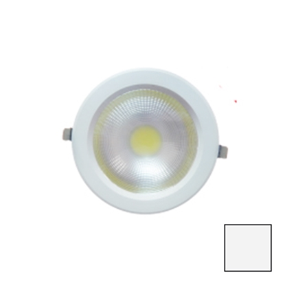 Imagen de Downlight LED COB Redondo Blanco 20W Blanco Natural