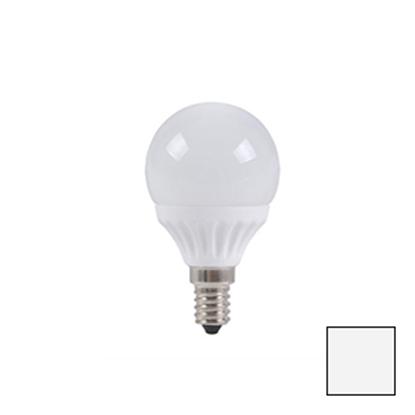 Imagen de Bombilla LED Esférica E14 4W EPISTAR Blanco Natural