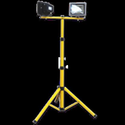 Imagen de Trípode Soporte Amarillo Focos Proyectores LED