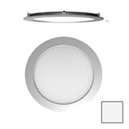 Imagen de Downlight LED Redondo Plata 18W Blanco Natural