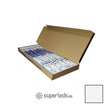 Imagen de Caja 25 Tubos LED T8 60cm 10W Blanco Natural