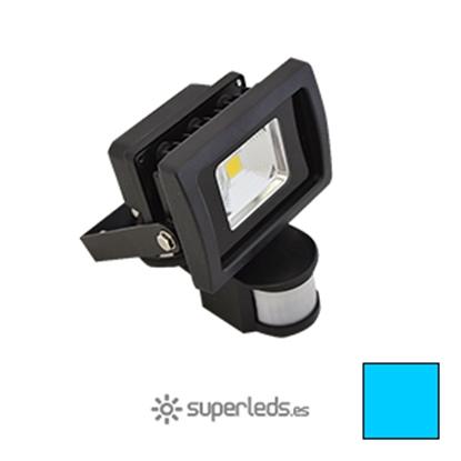 Imagen de Foco LED 10W Sensor Movimiento Blanco Frío
