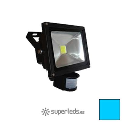 Imagen de Foco LED 20W Sensor Movimiento Blanco Frío