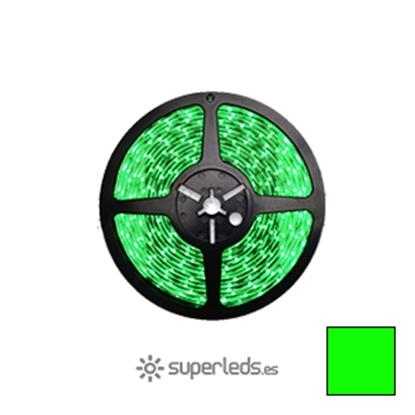 Imagen de Rollo Tira LED SMD3528 IP20 60 led 12V Verde