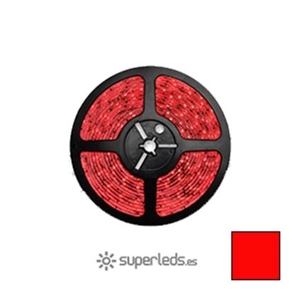 Imagen de Rollo Tira LED SMD3528 IP20 60 led 12V Rojo