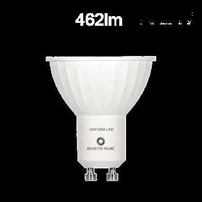 Imagen de Bombilla LED GU10 6W 120º  - 3000ºK