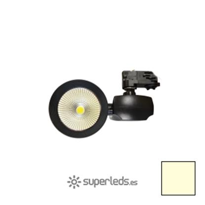 Imagen de Foco Carril LED COB 40W -  3000ºK