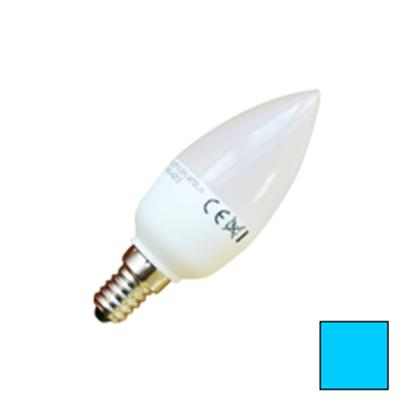 Imagen de Lote 10 Bombillas LED Vela E14 6W Blanco Frío