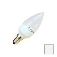 Image de Lote 10 Bombillas LED Vela E14 6W Blanco Natural
