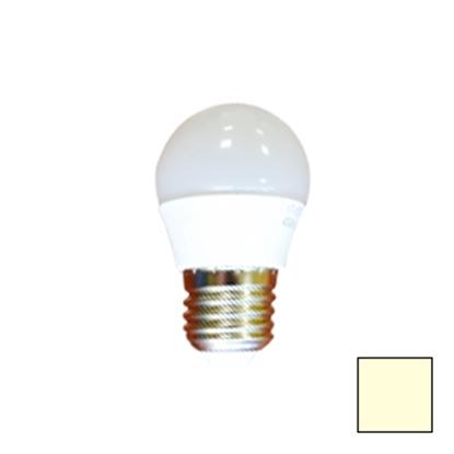 Imagen de Lote 10 Bombillas LED Esférica E27 6W Blanco Cálido