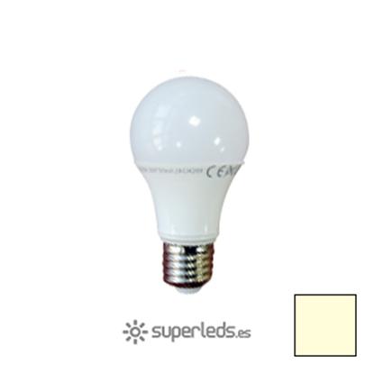 Imagen de Lote 10 Bombillas LED A60 E27 10W EPISTAR Cálidas