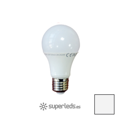 Imagen de Lote 10 Bombillas LED A60 E27 10W EPISTAR Naturales