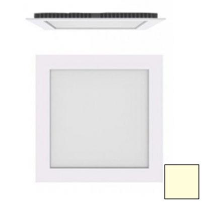 Imagen de Downlight LED Cuadrado Blanco 18W Blanco Cálido