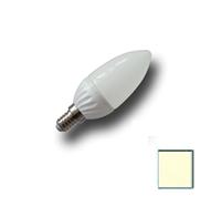Image de Bombilla LED Vela E14 4W EPISTAR Blanco Cálido