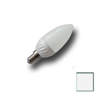 Imagen de Bombilla LED Vela E14 4W EPISTAR Blanco Natural