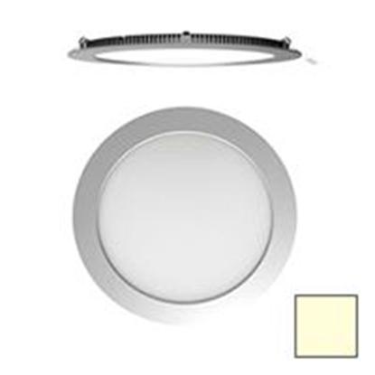 Imagen de Downlight LED Redondo Plata 25W Blanco Cálido