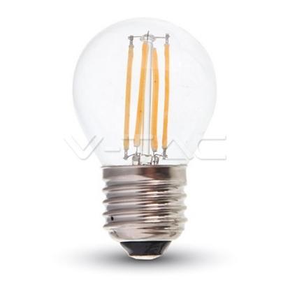 Imagen de Bombilla LED G45 E27 4W Filamento Regulable Blanco Cálido