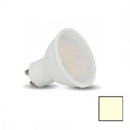 Imagen de Caja 50 Bombillas LED GU10 5W Blanco Cálido