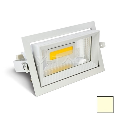 Imagen de Downlight LED COB Orientable 30W Blanco Cálido