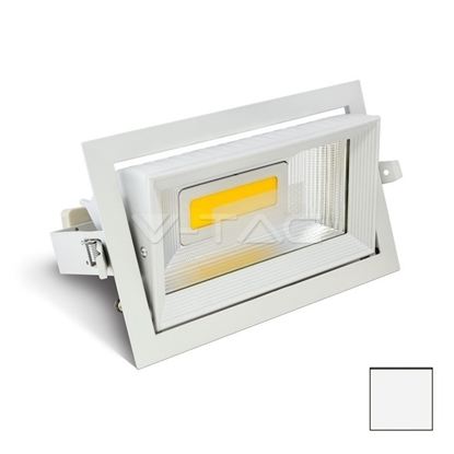 Imagen de Downlight LED COB Orientable 30W Blanco Neutro